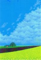 碇貴代司 パステル画「お〜い雲」作品展