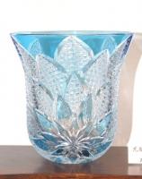 ブルー花瓶