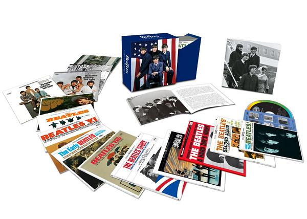 ビートルズ、アメリカ上陸50周年BOX