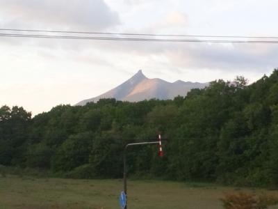 駒ケ岳の夕暮れ