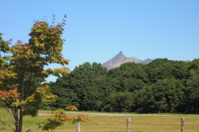 初秋の駒ケ岳