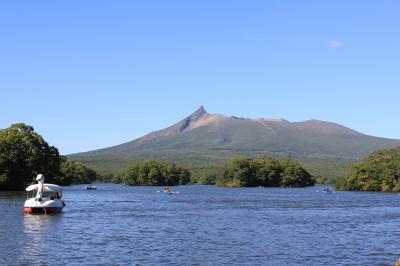 大沼湖からの駒ケ岳