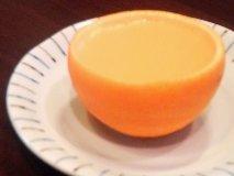 オレンジゼリー。