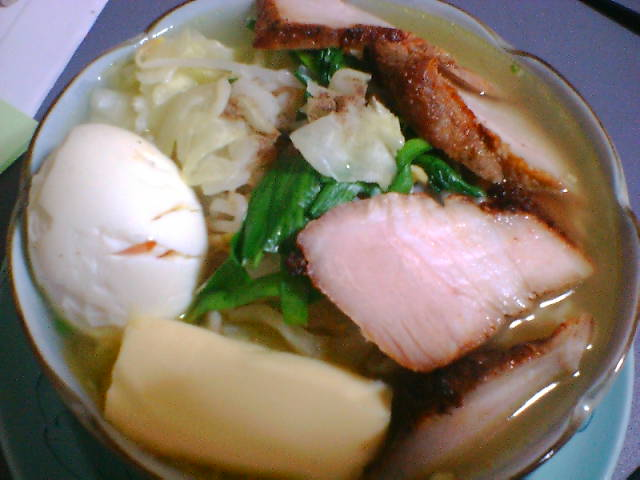 2005/12/07 塩ラーメン