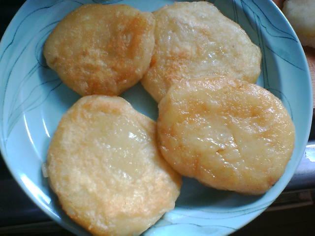 2005/12/09 ジャガイモ餅