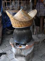 もち米の蒸し方(東北風)
