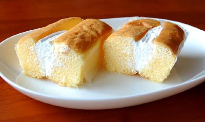セブン ジャージー牛乳のホイップケーキ135円