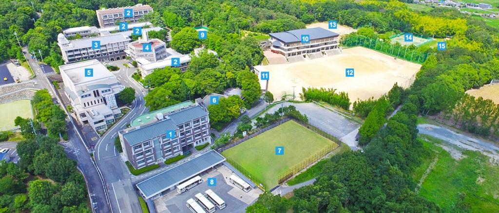 関西大倉高校の外観