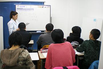 テスト対策授業の様子