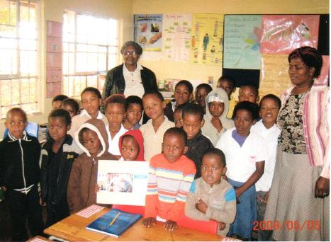 南アフリカ小学校