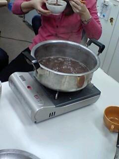 ぜんざい鍋