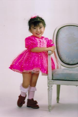 ピンクドレス上娘
