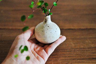 高島さんの花器
