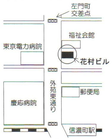 信濃町店Map