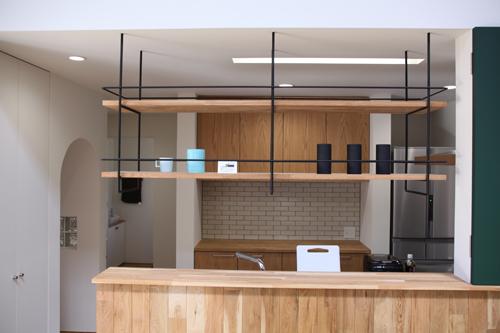 キッチン キッチンボード 収納 : この吊り棚はいいですね!僕も ...
