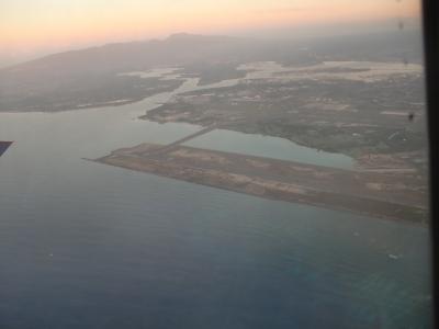 ハワイオワフ島上空写真4