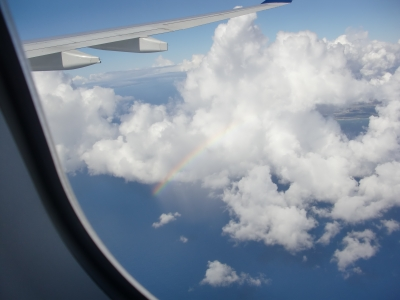 ハワイオワフ島上空写真7
