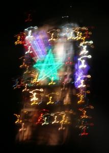 八戸セメントNSPタワーの幻想的な夜景11
