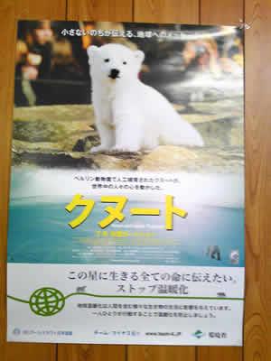 映画「クヌート」のポスター