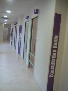 診察室は全部で15部屋