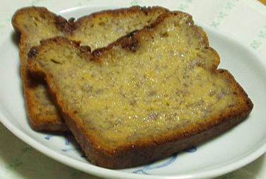 メイプルバナナチョコチップケーキ