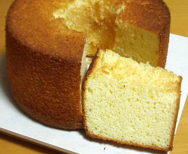 米粉バニラシフォンケーキ