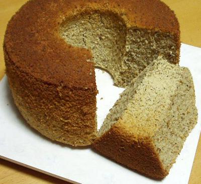 米粉の紅茶シフォンケーキ