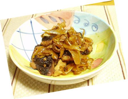 メカジキのビネガー煮