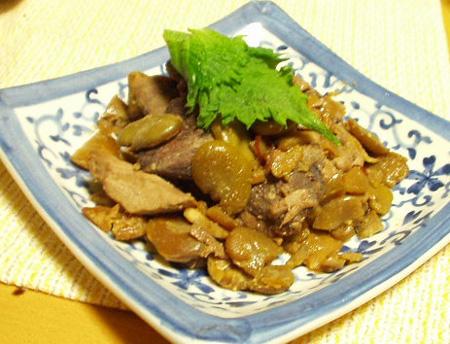空豆とマグロ