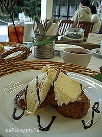 ロンカフェのフレンチトースト