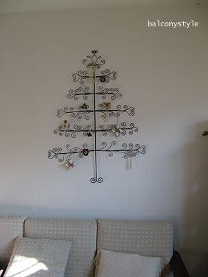壁掛タイプのツリー