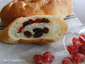 さくらんぼのパン