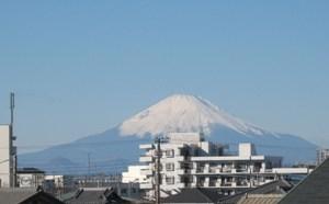富士山もくっきり