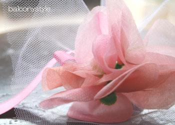 世界にひとつだけのピンクの花