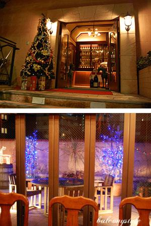 ニコラス六本木店はクリスマスモード