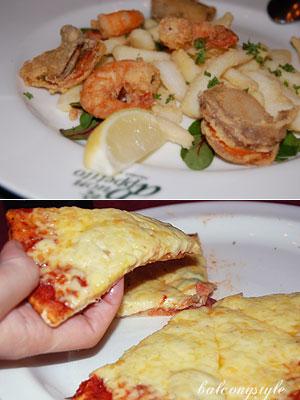 シンプルなピザマルゲリータはカリットとジューシー