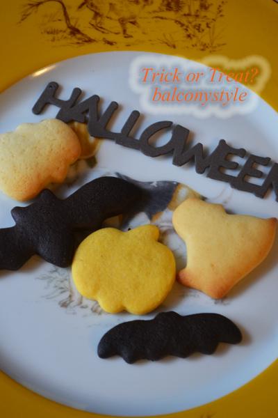手作りのハロウィーンクッキー