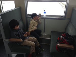 五能線の普通列車