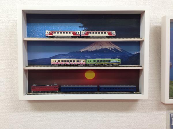 鉄道模型コレクションケース
