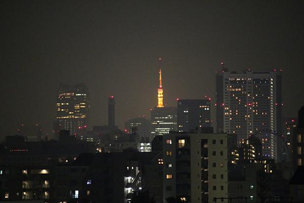 ホテルメッツ田端からの風景