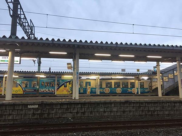由利鉄ビール列車