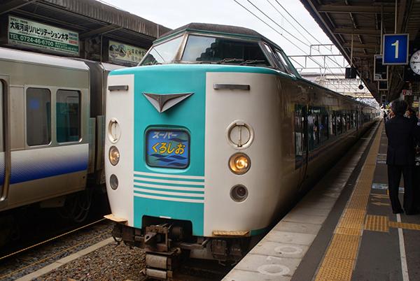 和歌山駅にて