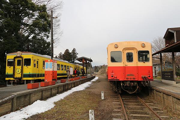 いすみ鉄道と小湊鉄道