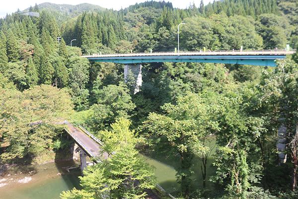 秋田内陸線沿線