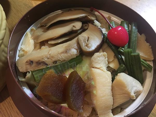 松茸の釜めし