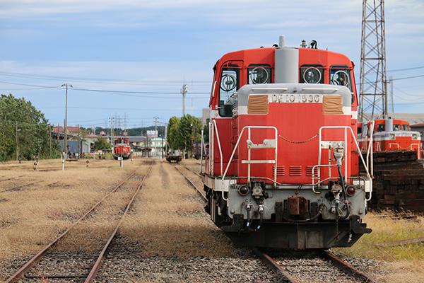 秋田臨海鉄道のDE10