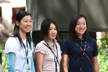 表彰式 日本チーム 4位