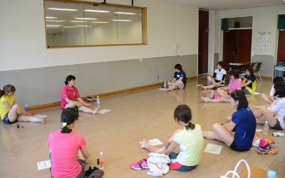 20140531初心者ランニング講習スポーツアロマでセルフケア062.JPG