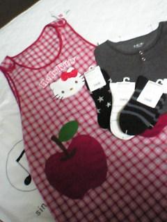 パジャマ&エプロン&靴下