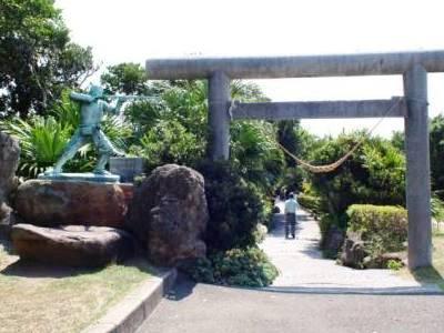門倉崎の入口